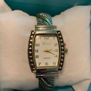 Bangle wrist watch - new